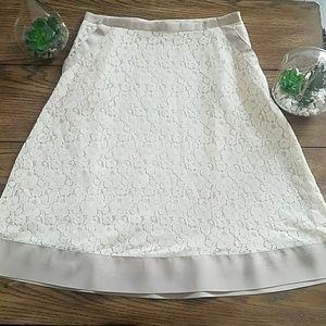 Isaac Mizrahi Lace Skirt